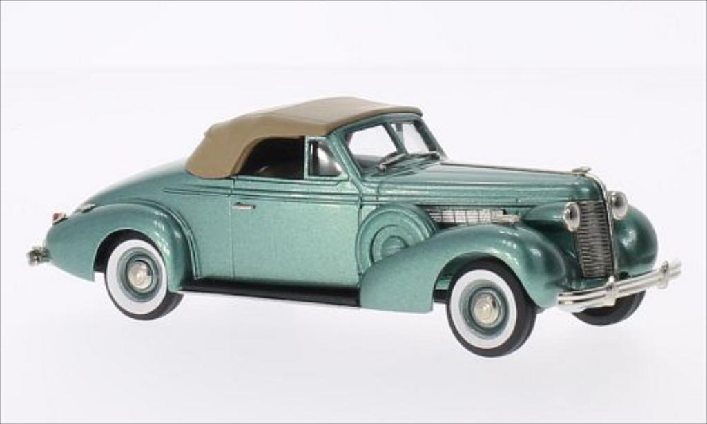 Buick Special 1/43 Brooklin Convertible Coupe M46-C metallise grun/marron 1938 miniature