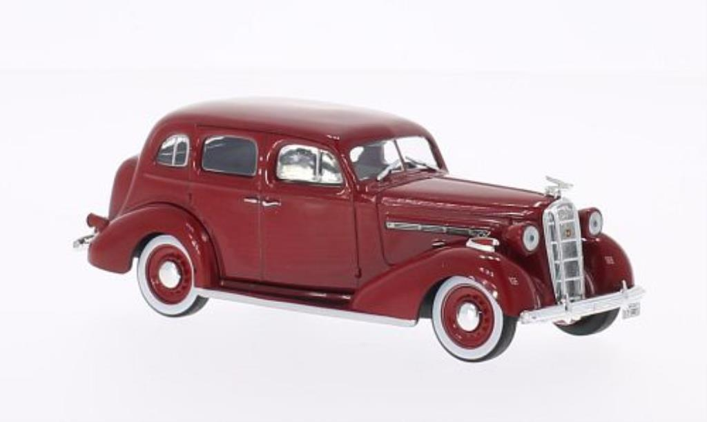 Buick Special 1/43 WhiteBox rouge 1936 miniature