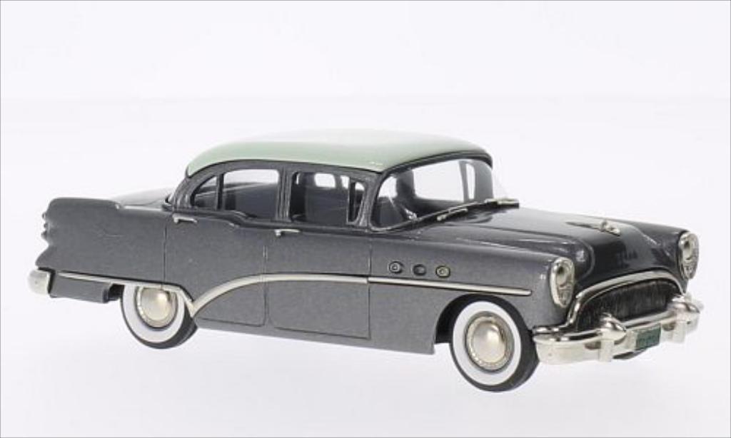 Buick Special 1/43 Brooklin Sedan metallic-grise/verte 1954 miniature