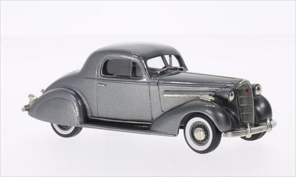 Buick Special 1/43 Brooklin Sport Coupe M-46S metallise grise 1936 miniature
