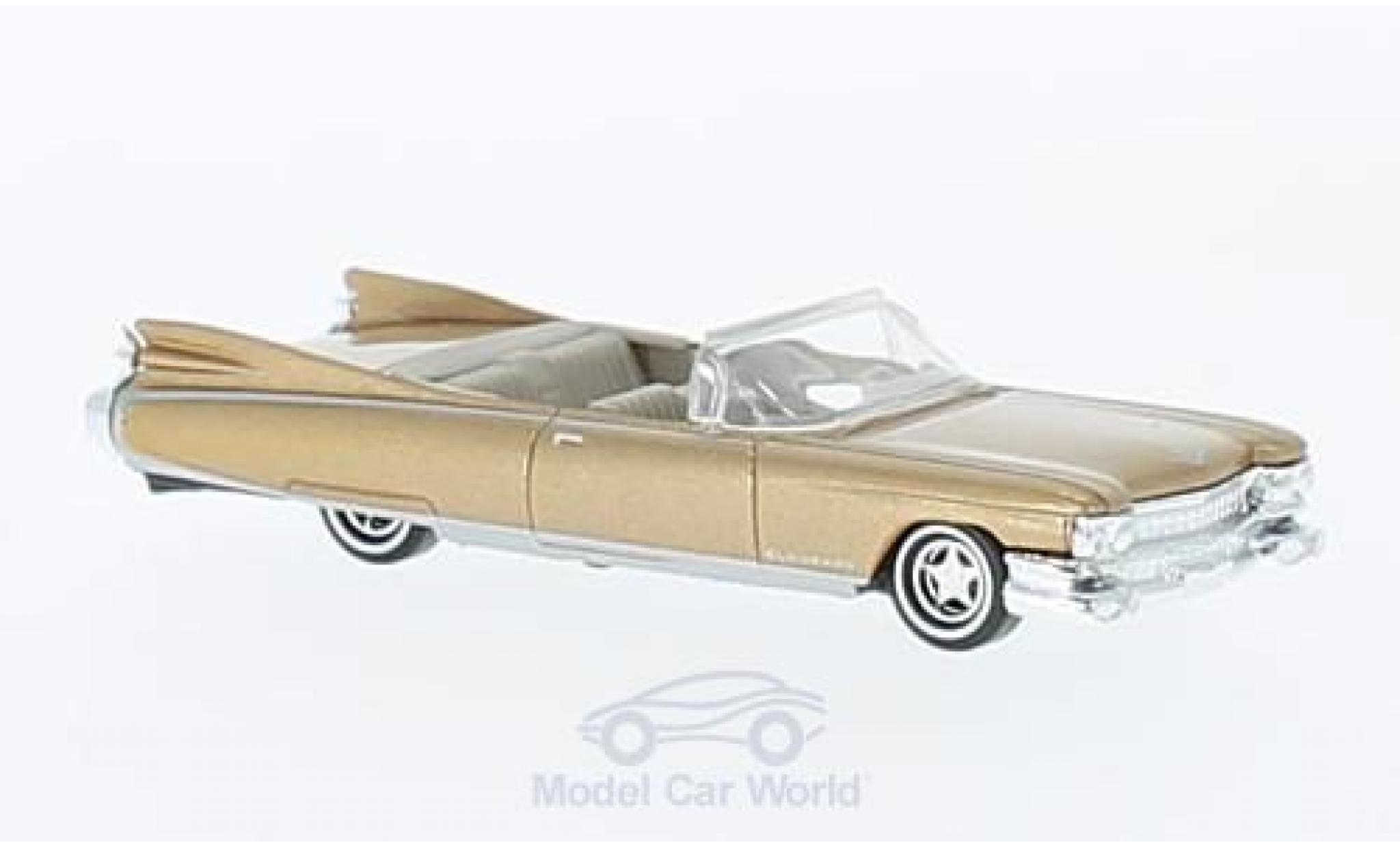 Cadillac Eldorado 1/87 Busch Convertibnle metallise beige 1959