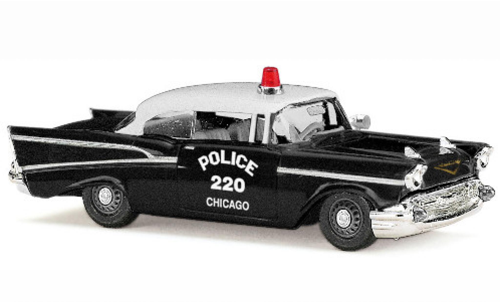 Chevrolet Bel Air 1/87 Busch Chicago Police 1957