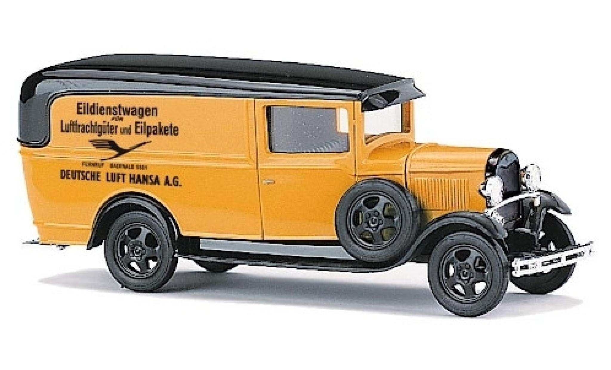 Ford Model A 1/87 Busch A Deutsche Lufthansa Eildienstwagen