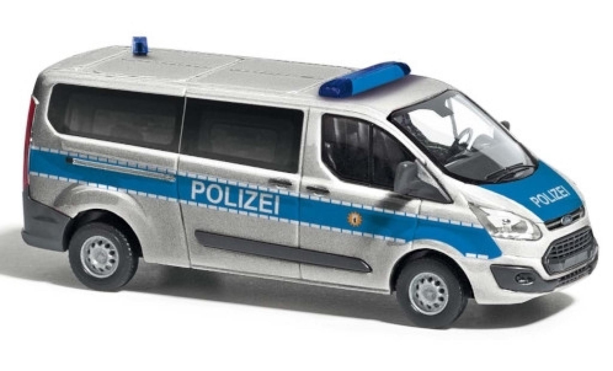 Ford Transit 1/87 Busch Custom Bus Polizei Berlin