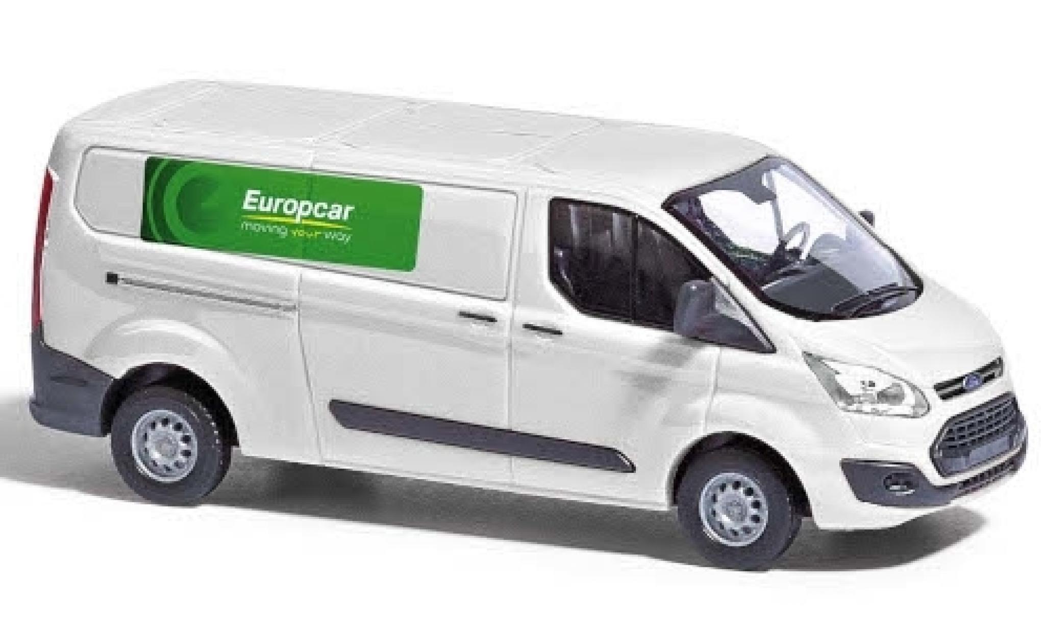 Ford Transit 1/87 Busch Custom Europcar fourgon