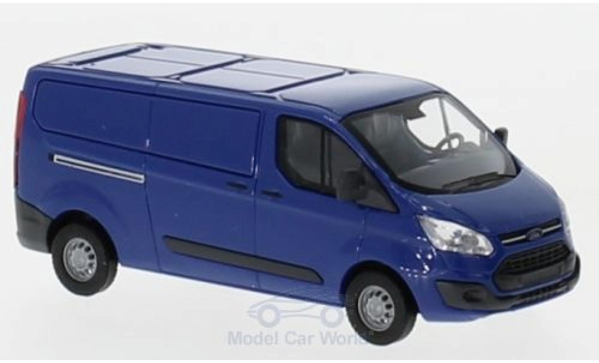 Ford Transit 1/87 Busch Custom Kasten bleue 2012