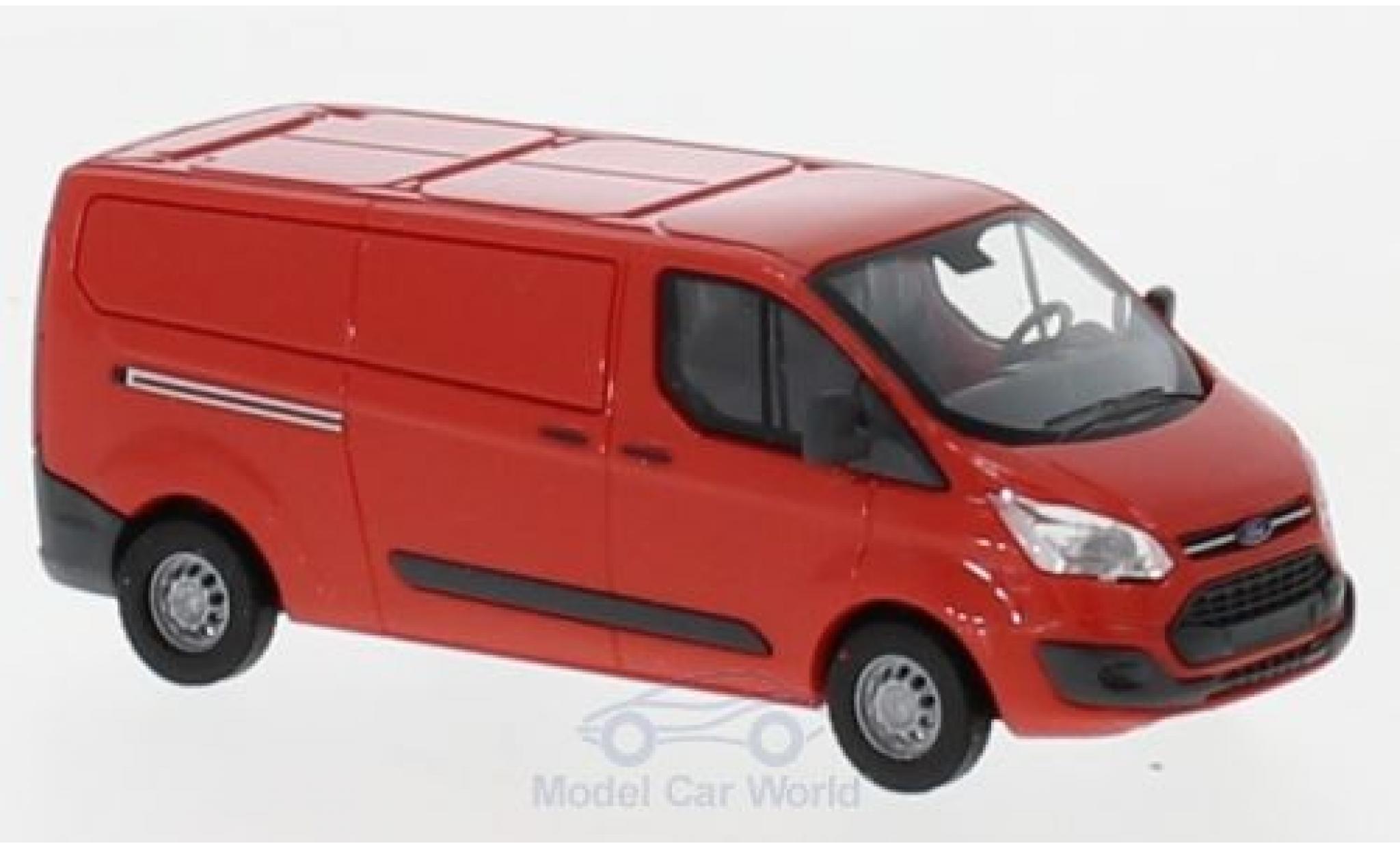 Ford Transit 1/87 Busch Custom Kasten rouge 2012