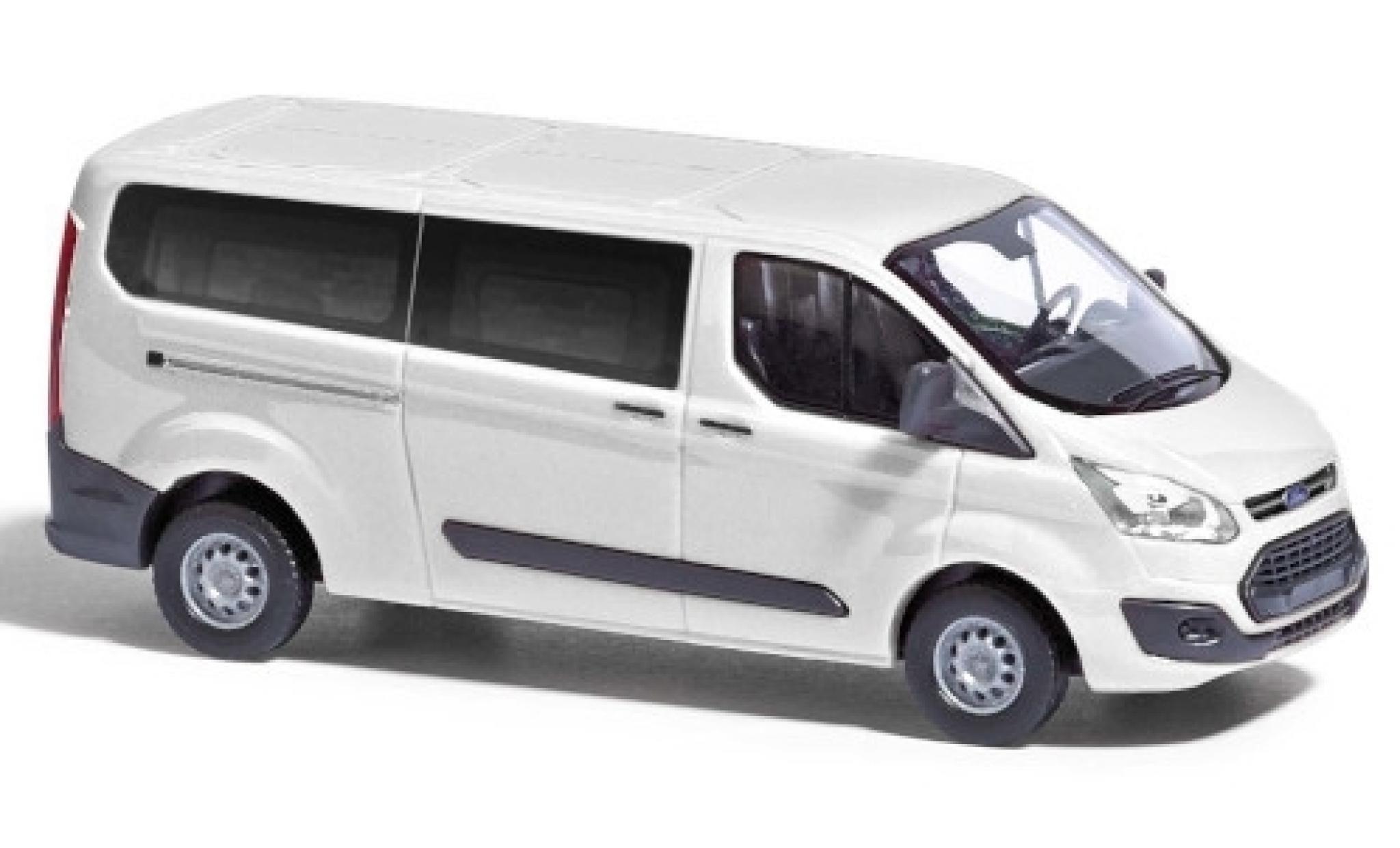 Ford Transit 1/87 Busch Custom blanche 2012 bus