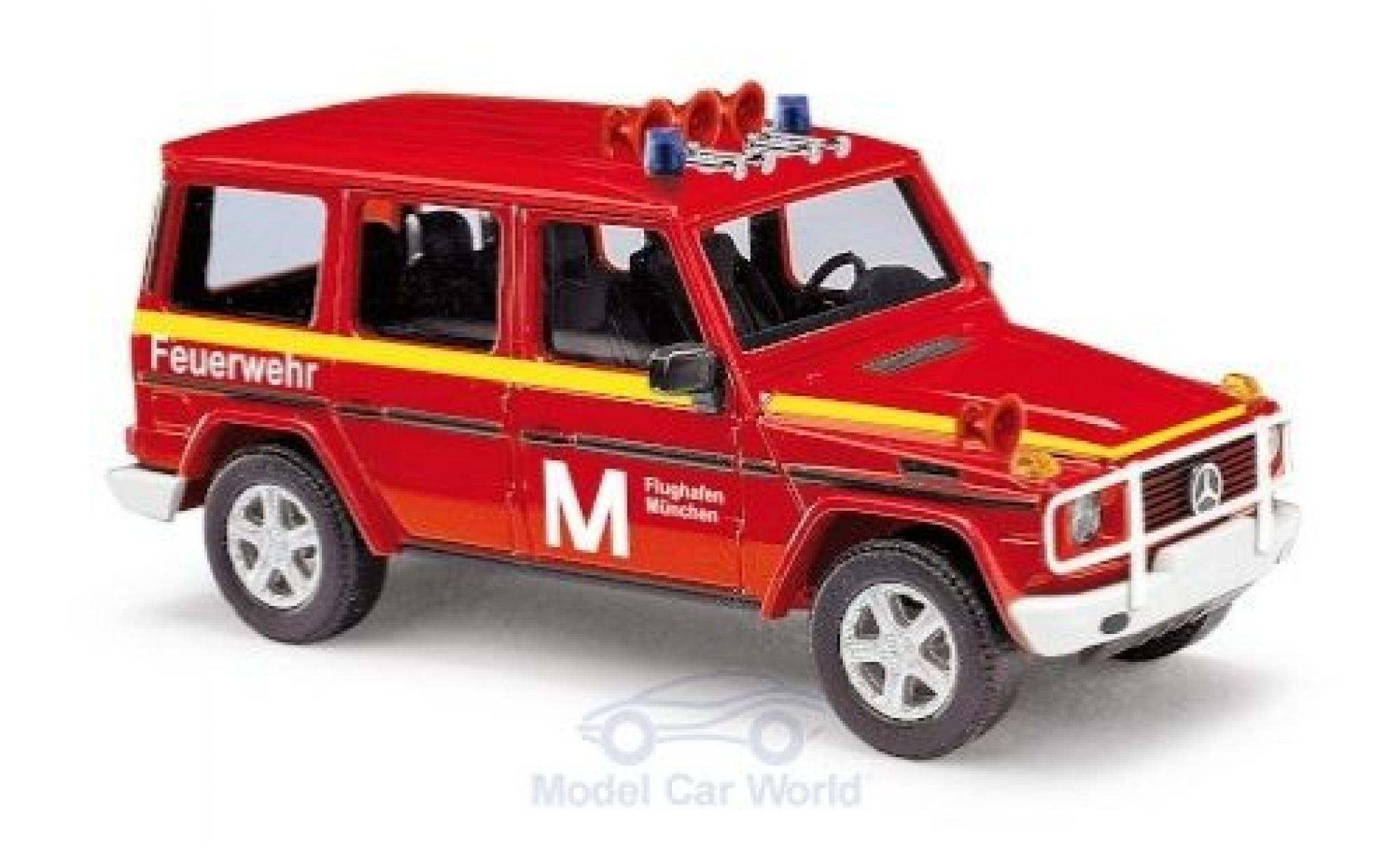 Mercedes Classe G 1/87 Busch Feuerwehr Flughafen München 1990
