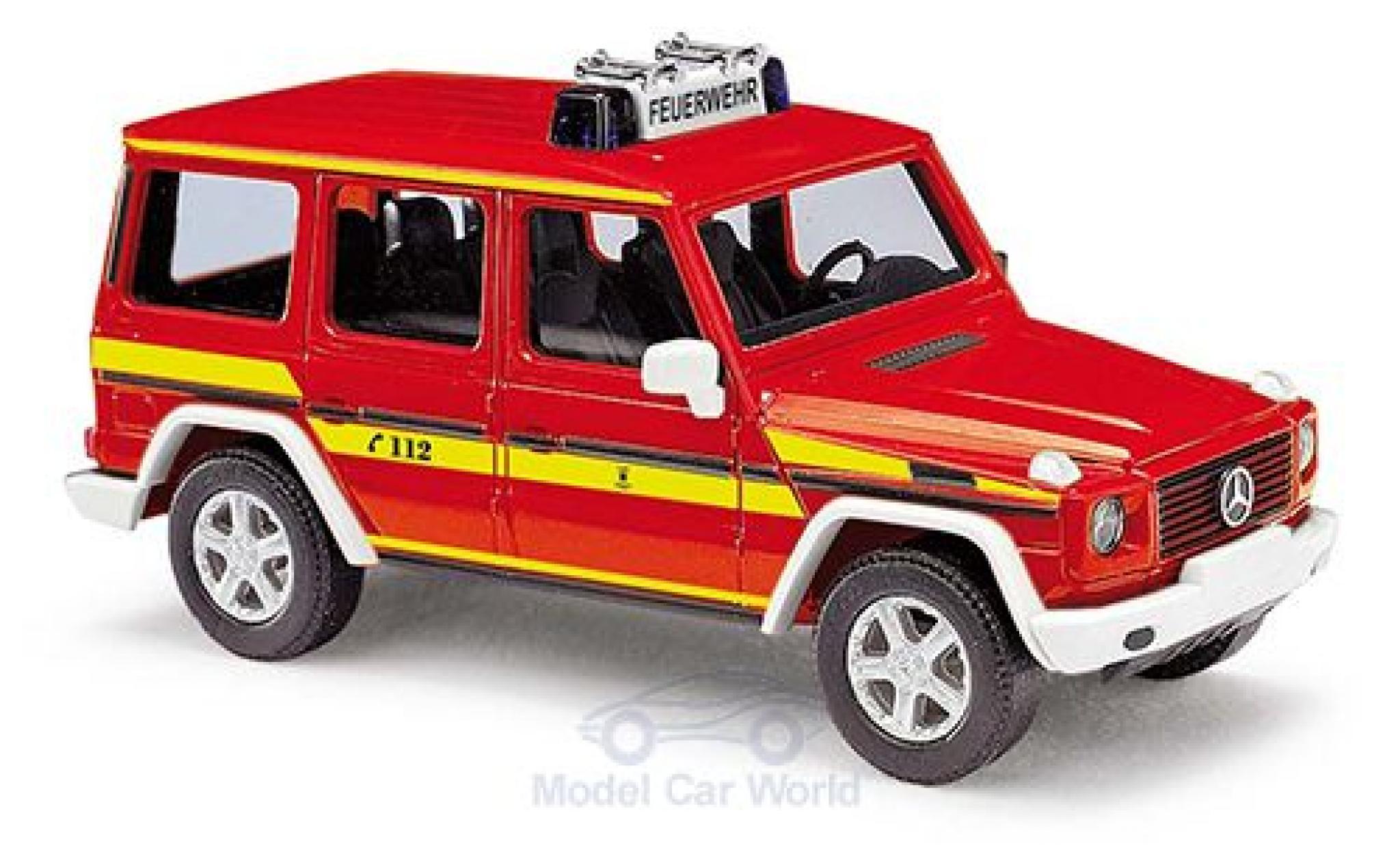 Mercedes Classe G 1/87 Busch Feuerwehr München 1990