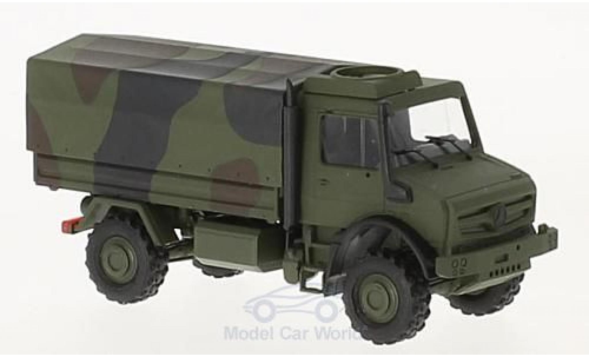 Mercedes Unimog 1/87 Busch U5023 2014 Militär in Tarnfarbe