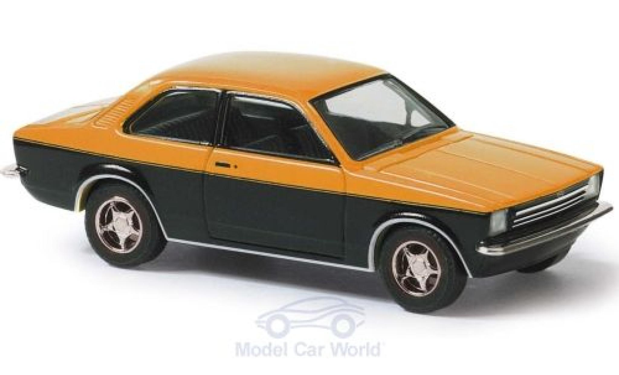 Opel Kadett 1/87 Busch C orange/noire 1977