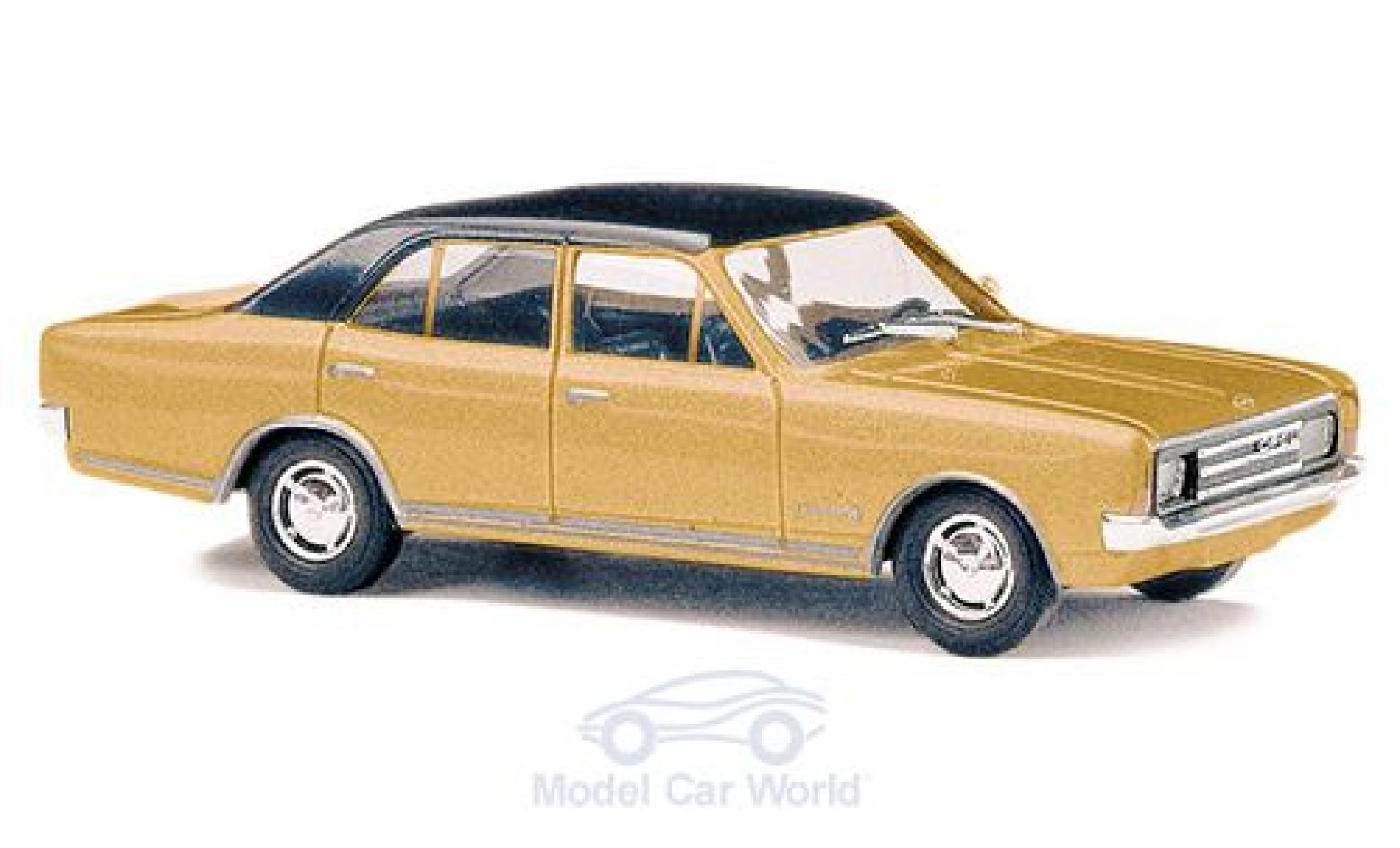 Opel Rekord 1/87 Busch C gold/noire 1966