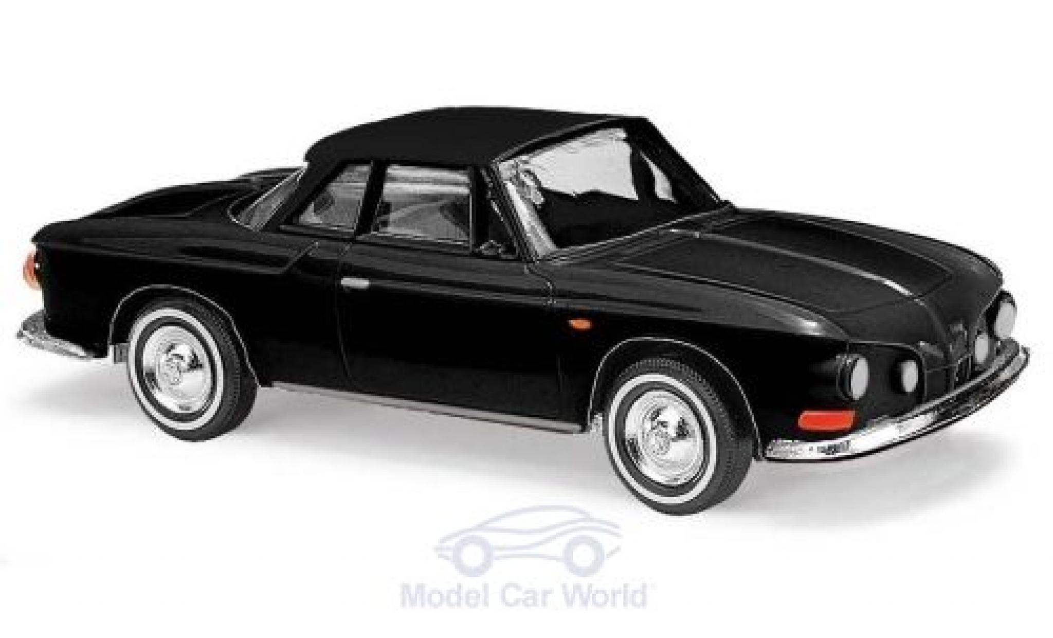 Volkswagen Karmann 1/87 Busch Ghia 1600 black 1961