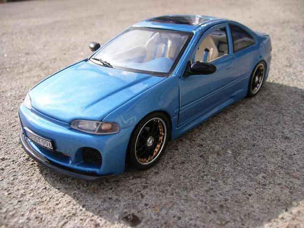 Honda Civic 1/18 Ertl ej esi techart tuning miniature