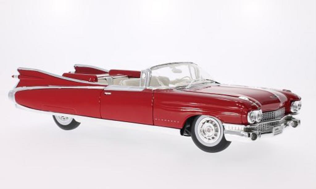 Cadillac Eldorado 1/18 Maisto Biarritz rouge 1959 miniature