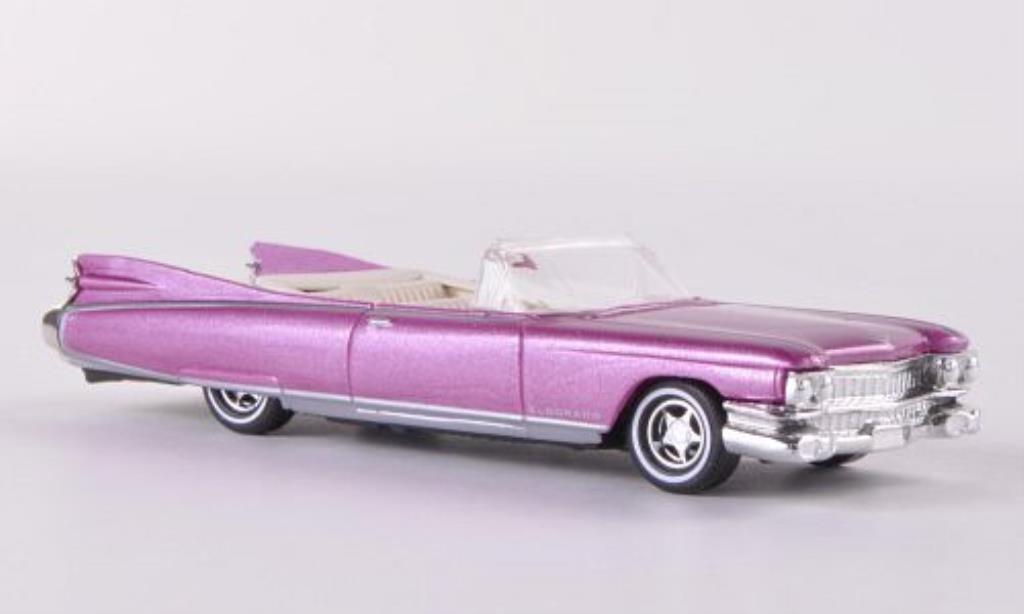 Cadillac Eldorado 1/87 Busch Convertible rose 1959 miniature