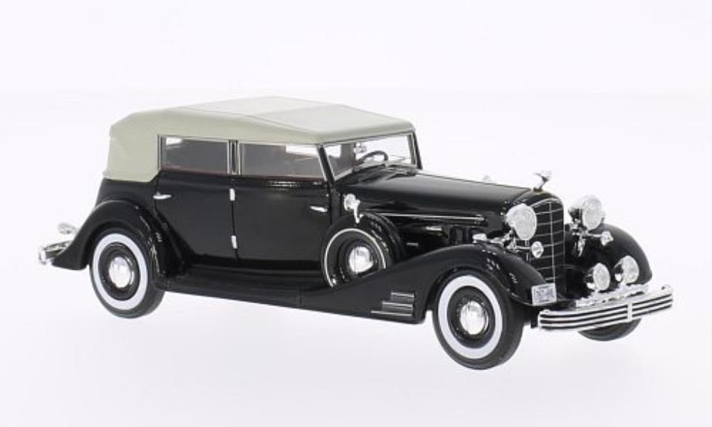 Cadillac Fleetwood 1/43 Neo Allweather Pheaton black 1933 diecast model cars