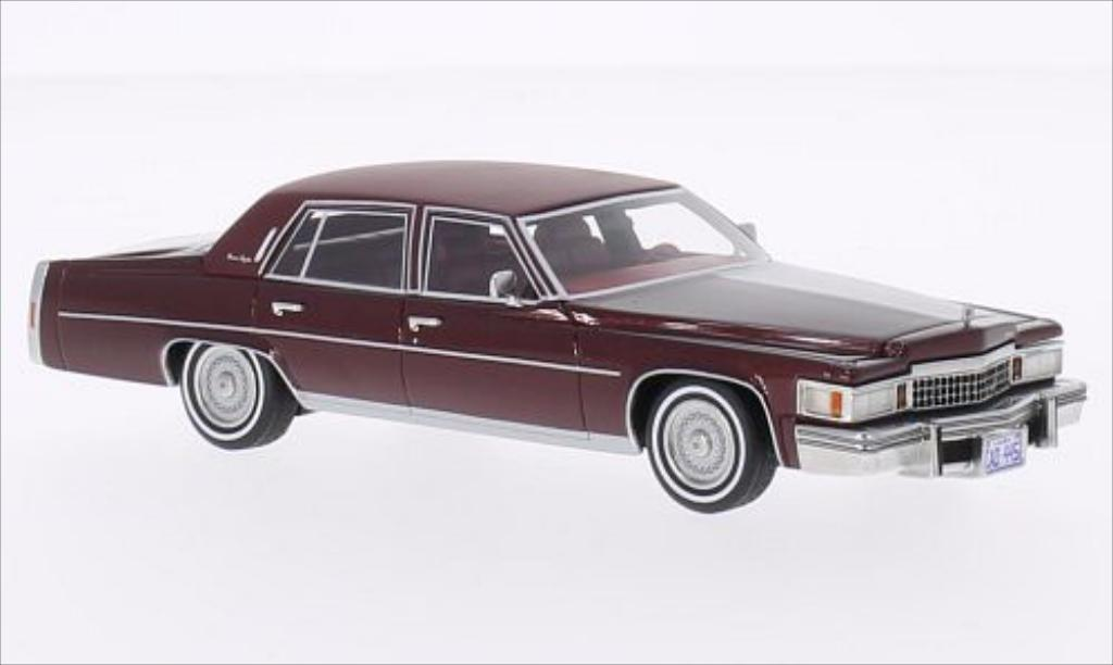 cadillac fleetwood brougham metallic dunkelred matt dunkelred 1978 mcw. Cars Review. Best American Auto & Cars Review