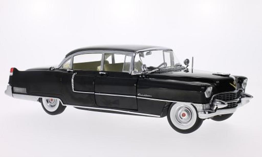 Cadillac Fleetwood 1/18 Greenlight Series 60 Special noire 1955 miniature