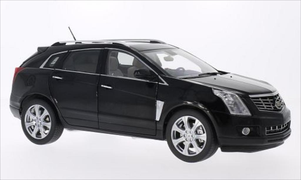 Cadillac SRX Crossover metallic-black 2014 Kyosho diecast model car 1 ...