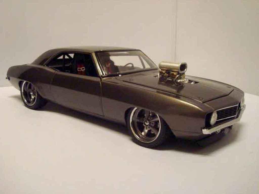 chevrolet camaro z28 1969 pro street gmp modellauto 1 18. Black Bedroom Furniture Sets. Home Design Ideas