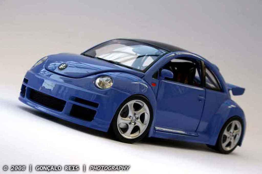 Volkswagen New Beetle RSI 1/18 Burago cup street edition tuning modellautos