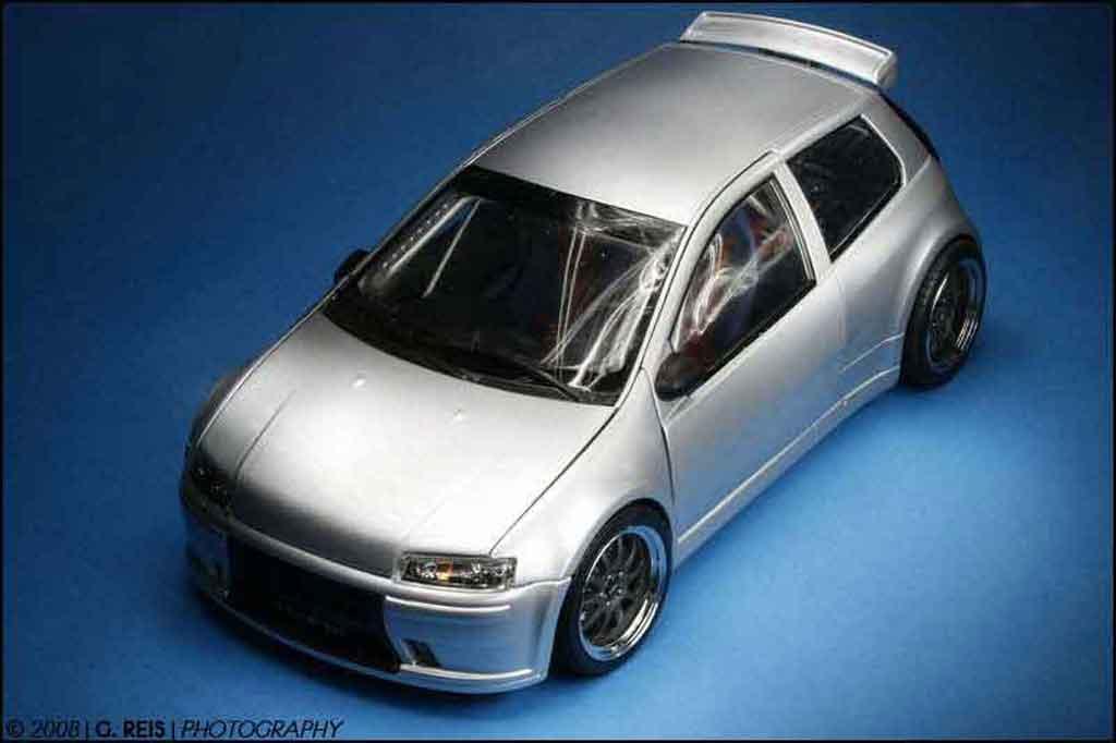 Fiat Punto 1/18 Ricko super 1600 street