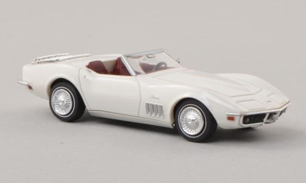 Chevrolet Corvette C3 1/87 Brekina  Cabriolet blanche miniature