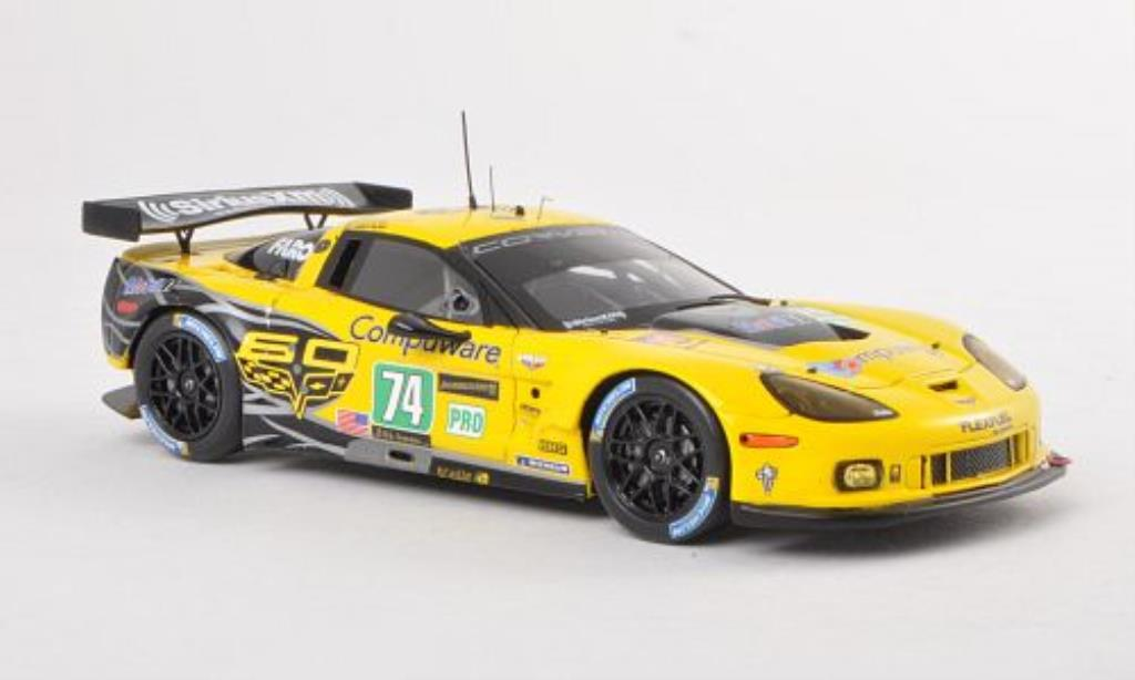 Chevrolet Corvette C6 1/43 Spark .R ZR1 No.74 Racing 24h Le Mans 2013 /R.Westbrook miniature