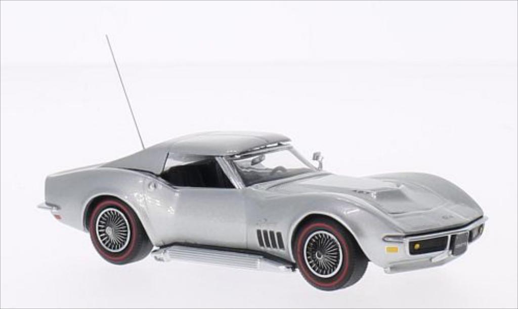 Chevrolet Corvette C3 1/43 Vitesse Coupe gray 1969 diecast