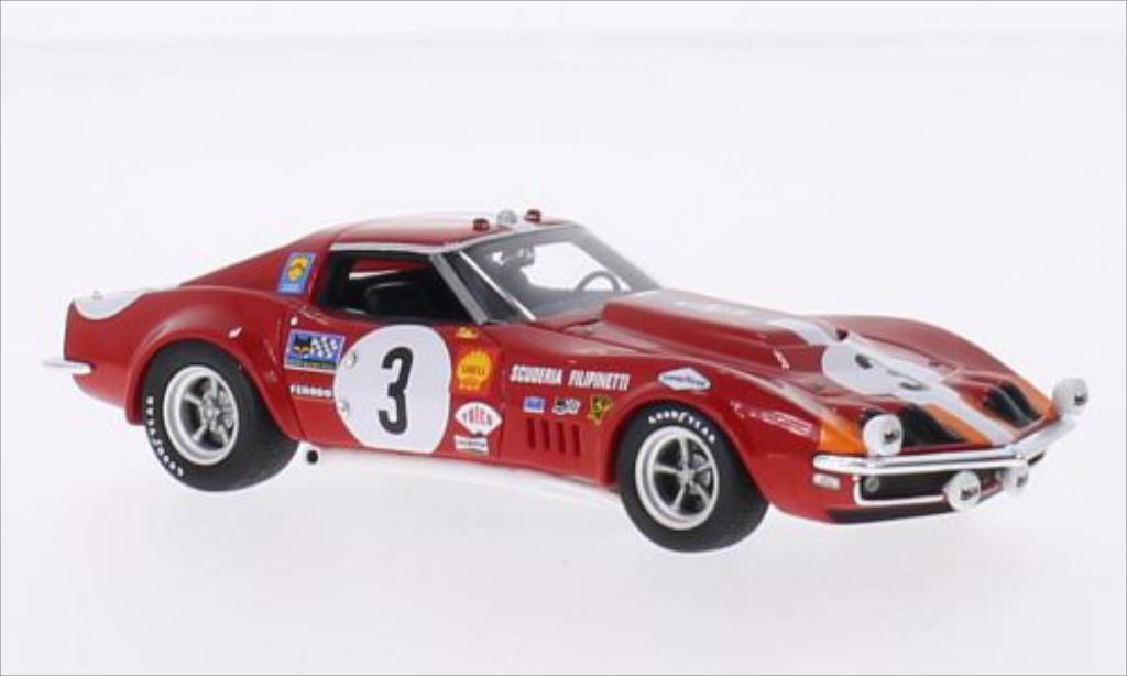 Chevrolet Corvette L88 No.3 Scuderia Filipinetti 24h Le Mans 1968 /U.Maglioli MCW. Chevrolet Corvette L88 No.3 Scuderia Filipinetti 24h Le Mans 1968 /U.Maglioli miniature 1/43