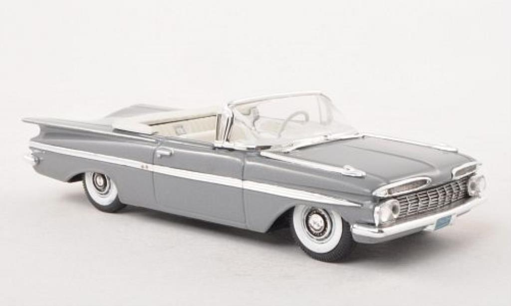 Chevrolet Impala 1/43 Vitesse Convertible grigia 1959 miniatura