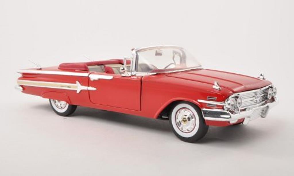 Chevrolet Impala 1/18 Motormax rouge 1960 miniature