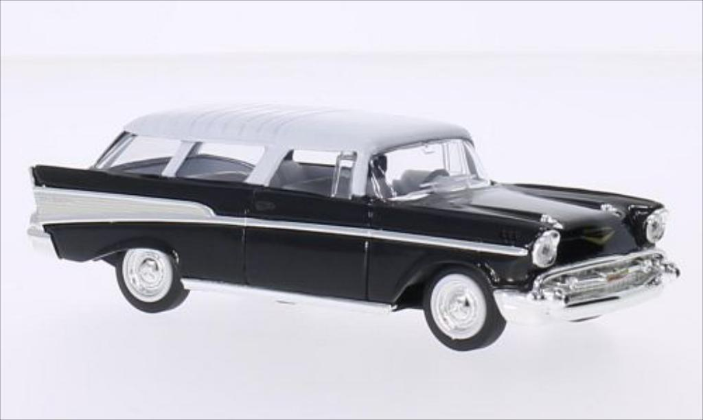 Chevrolet Nomad black/white 1957 MCW. Chevrolet Nomad black/white 1957 miniature 1/43