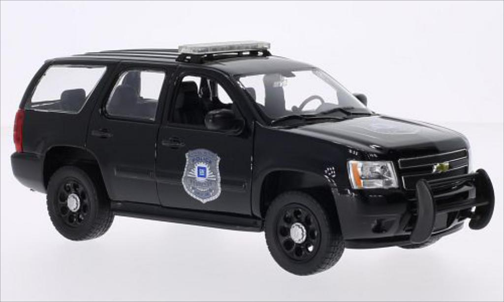 Chevrolet Tahoe 1/24 Welly General Motors Police Vehicles 2008 miniature