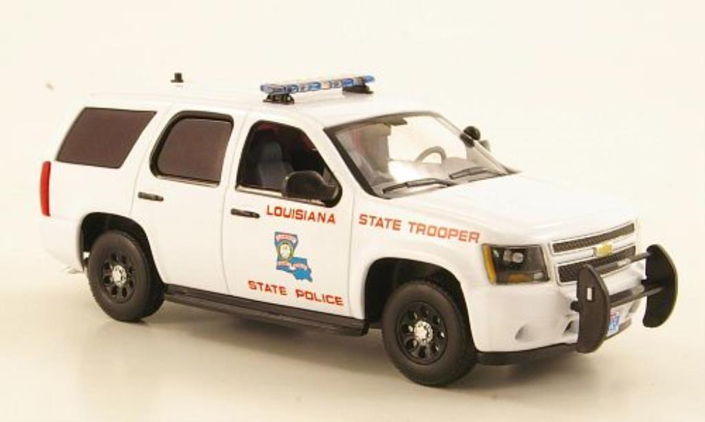 chevrolet tahoe louisiana state police 2011 mcw modellauto 1 43 kaufen verkauf modellauto. Black Bedroom Furniture Sets. Home Design Ideas