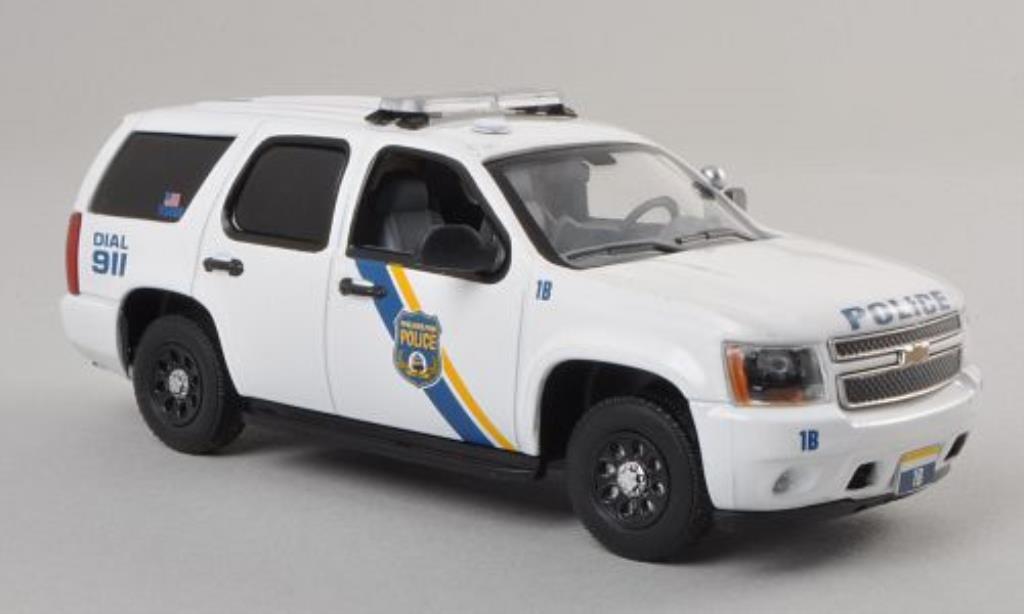 chevrolet tahoe philadelphia police department polizei us 2011 mcw modellauto 1 43 kaufen. Black Bedroom Furniture Sets. Home Design Ideas