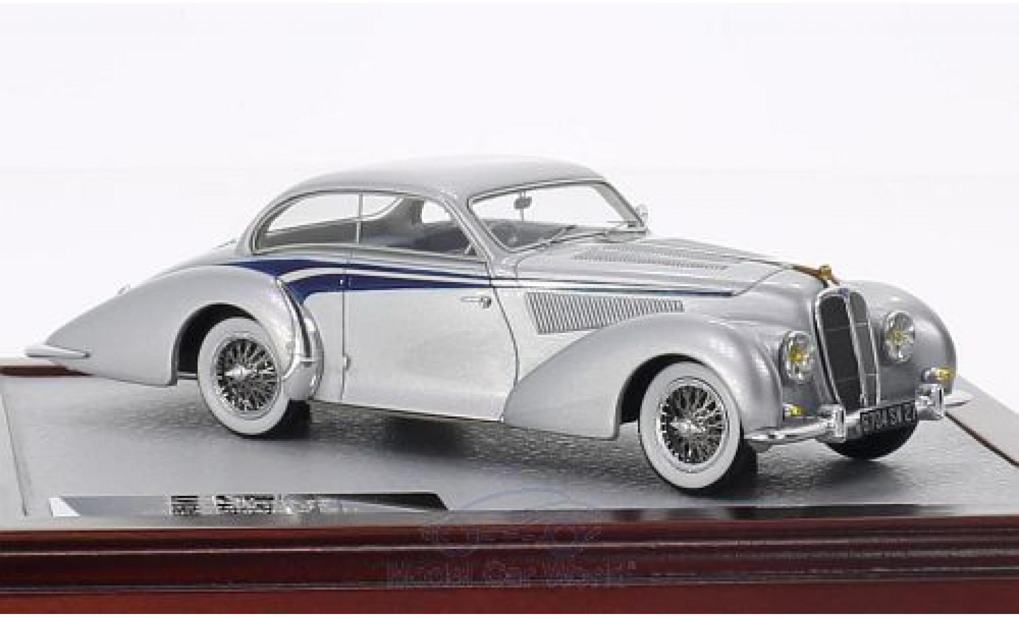 Delahaye 135 1/43 Chromes MS Coupé Langenthal grise/bleue 1947 sn800490