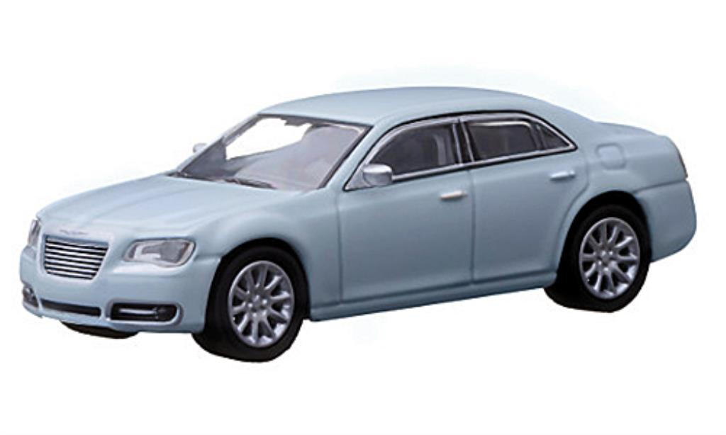 Chrysler 300C 1/64 Greenlight bleu 2013 miniature