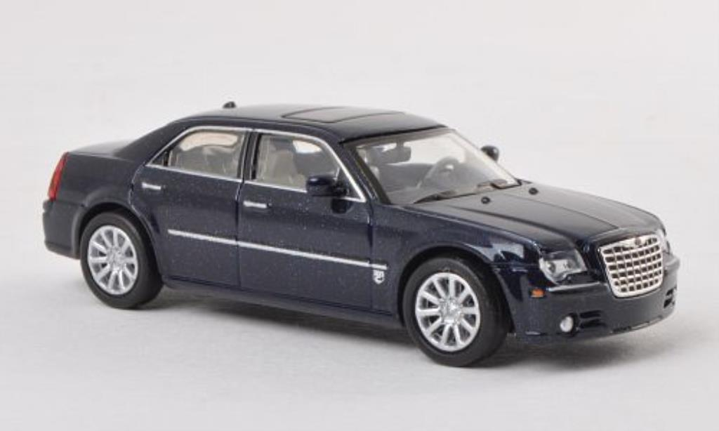 Chrysler 300C 1/87 Ricko SRT8 bleu miniature