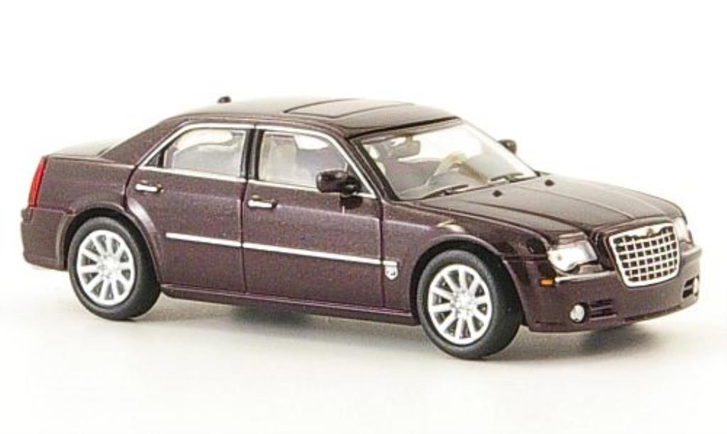 Chrysler 300C 1/87 Ricko SRT8 rouge miniature