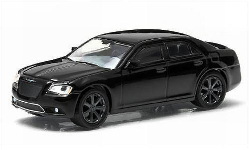 Chrysler 300C 1/64 Greenlight SRT8 noire 2012 miniature