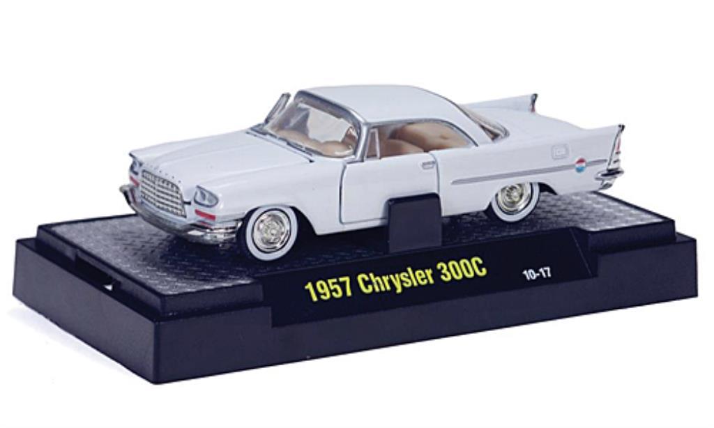 chrysler 300c weiss 1957 mcw modellauto 1 64 kaufen verkauf modellauto online. Black Bedroom Furniture Sets. Home Design Ideas