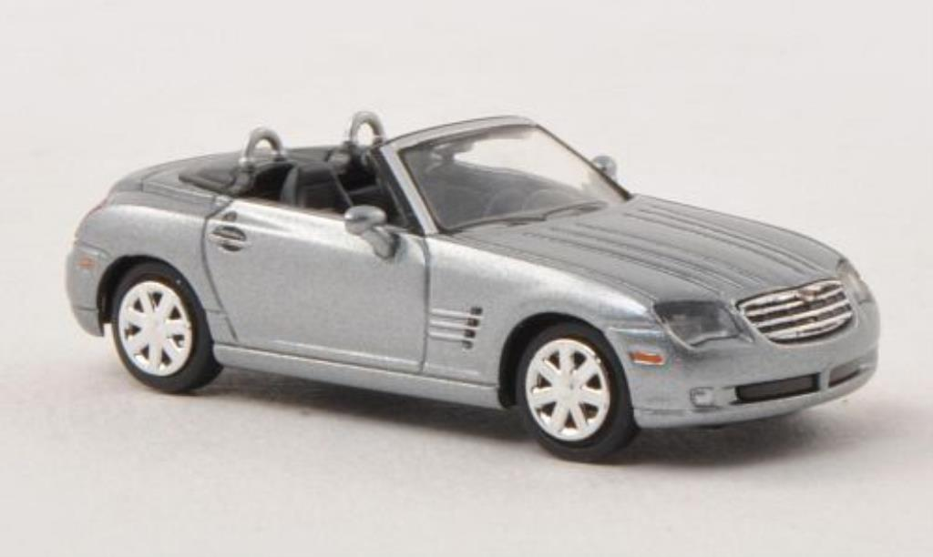 Chrysler Crossfire 1/87 Busch Roadster grise-grise 2009 miniature