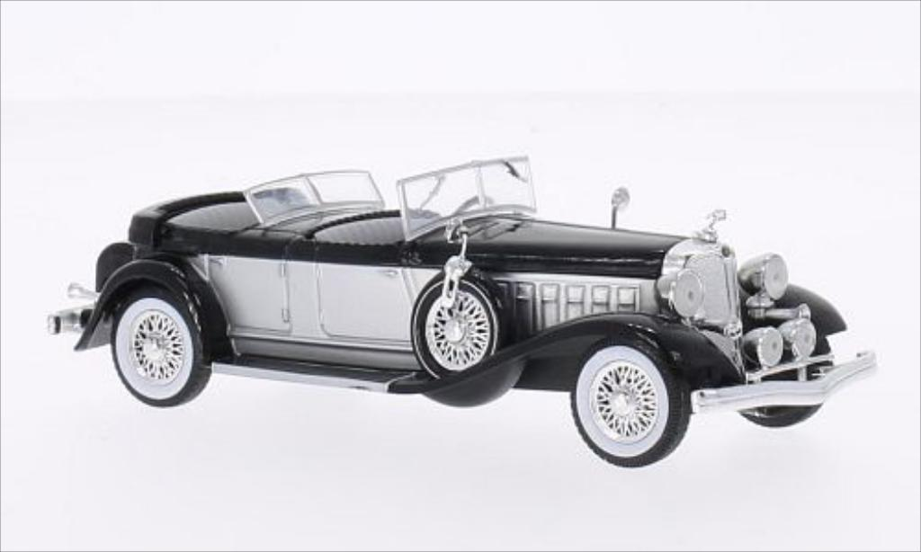 Chrysler Imperial 1/43 WhiteBox Le Baron Phaeton grise/noire 1933 miniature