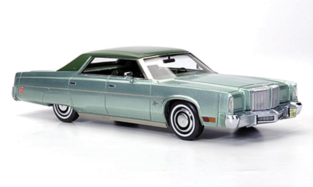 Chrysler Imperial 1/43 Neo grisegrun/grun 1975 miniature