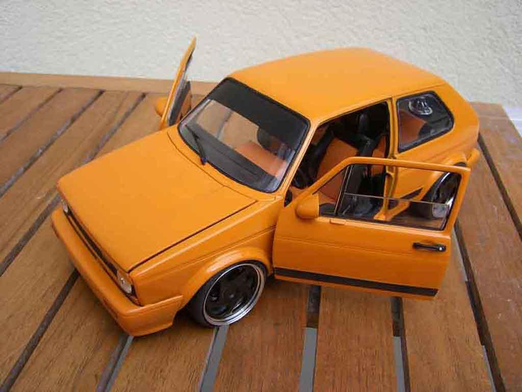 Volkswagen Golf 1 GTI 1/18 Solido kit carrosserie rieger