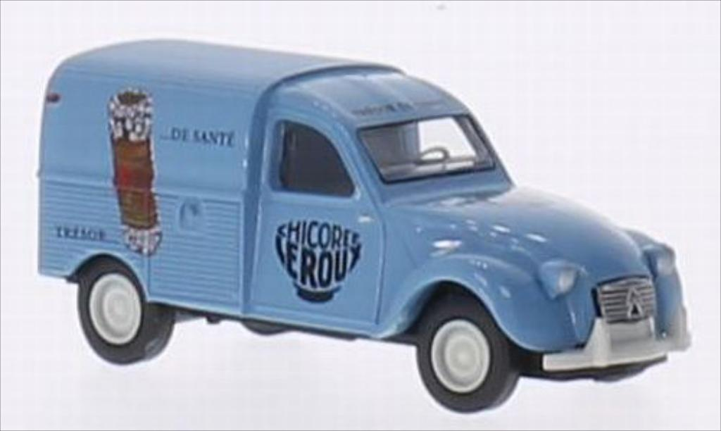 Citroen 2CV 1/87 Brekina AZU Chicoree (F) miniature