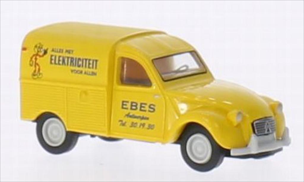 Citroen 2CV 1/87 Brekina AZU Ebes Elektriciteit (B) miniature